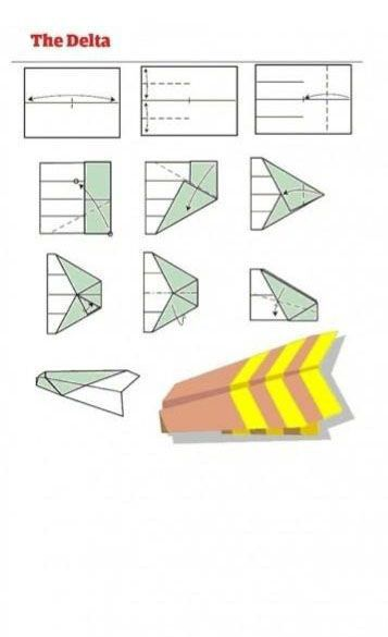 Paper Airplane Designs