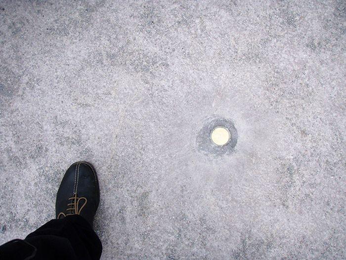 Walter De Maria's Vertical Earth Kilometer