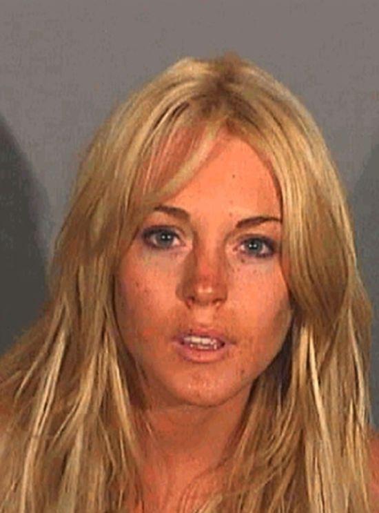 The Evolution of Lindsay Lohan's Mugshots
