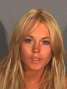 The Evolution of Lindsay Lohan's Mugshots