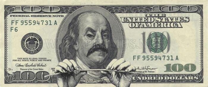 $100 Bill Defaces