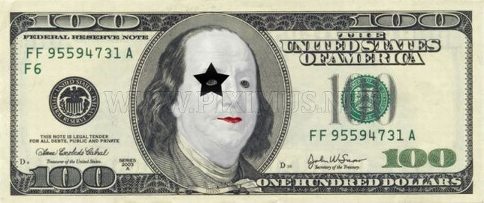 $100 Bill Defaces