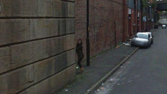 Google Street Handjob