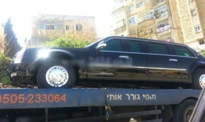Barack Obama's Limousine Breaks Down in Israel
