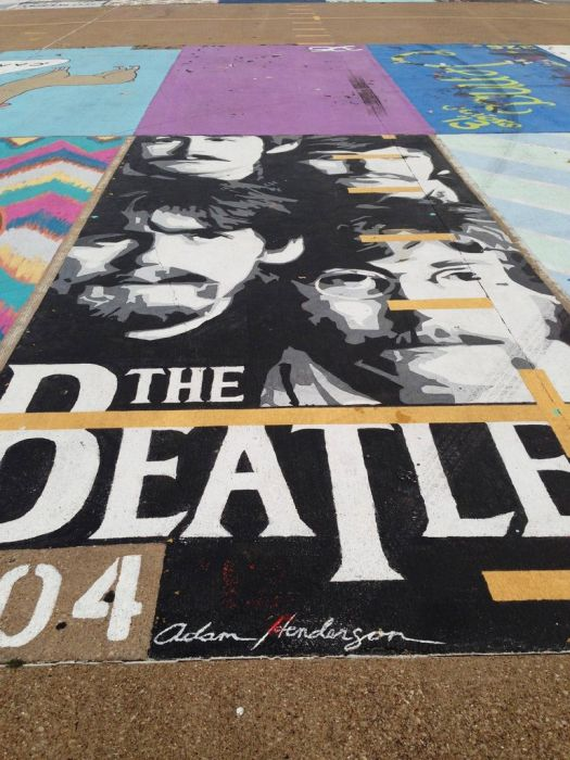 Beatles Parking Spot