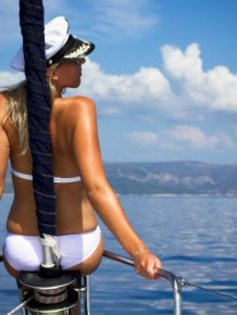 Cute Girls of Yacht Week 2013