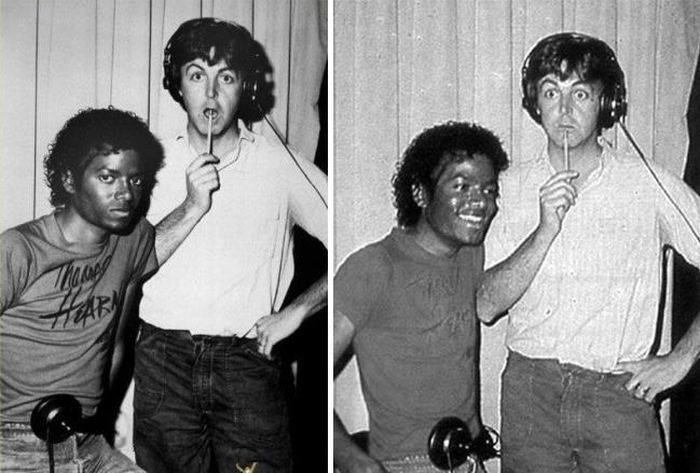 Rare Photos of Famous People, part 7