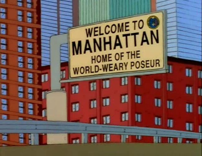 Funny Signs From The Simpsons, part 3
