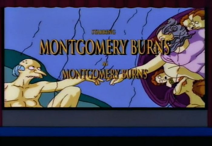 The Simpsons Copying Famous Movies