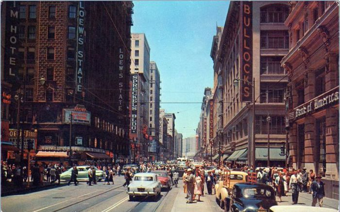 USA in the '50s and '60s
