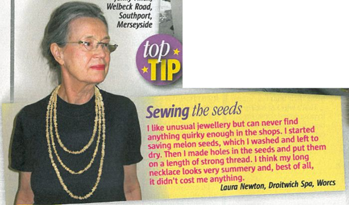 Useless Tips from Women's Magazines