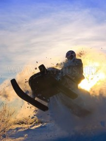 Snowmobile Photos