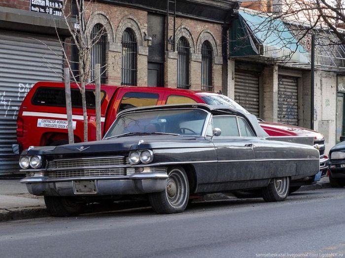 Vintage Cars in New York