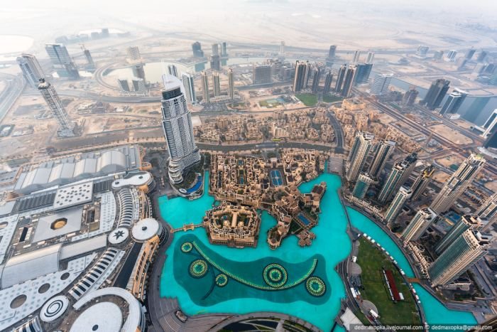 View from the Top of Dubai