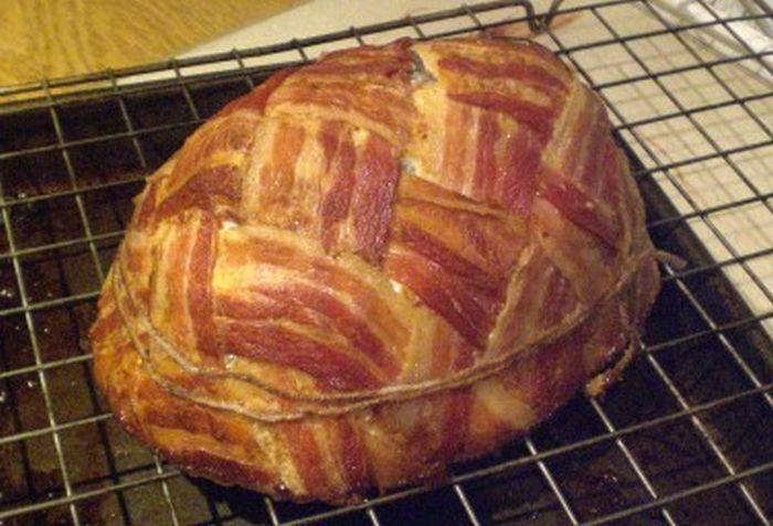 Bacon Easter Egg
