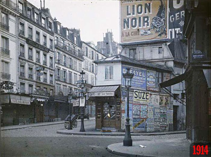 Paris 1900-2013, part 19002013