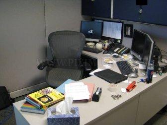 Pennied Desk