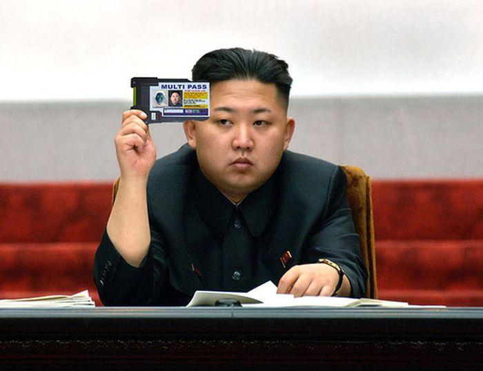 Kim Jong-Un Photoshop