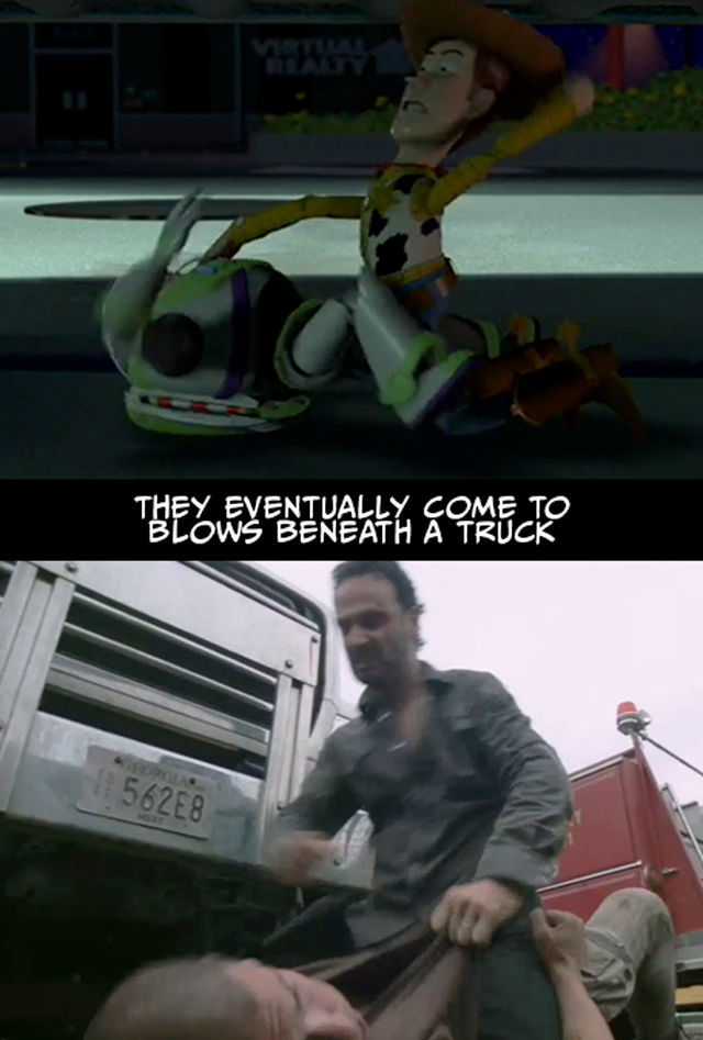 The Walking Dead vs Toy Story