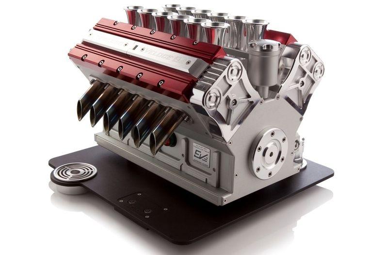 V12 engine unusual purpose