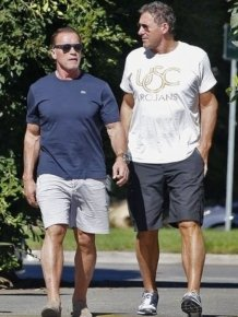 Arnold Schwarzenegger is Back at Gym