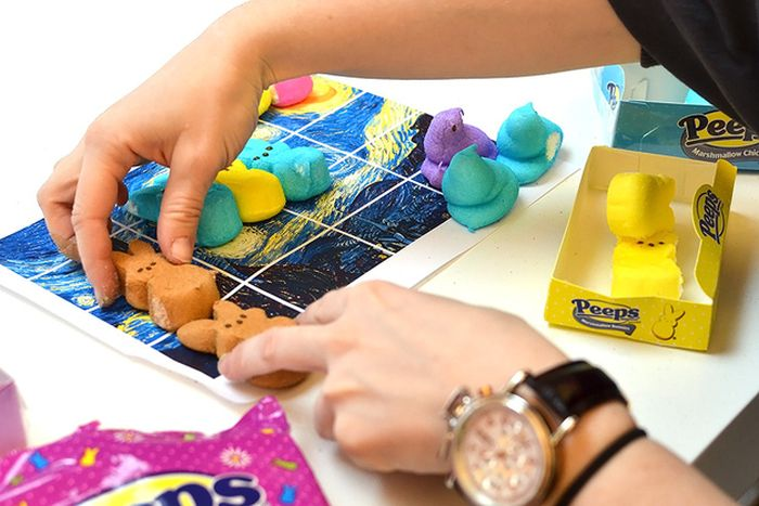 How To Make Your Own Peep-Tastic Work Of Art