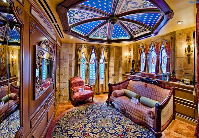Inside Disney's Castle