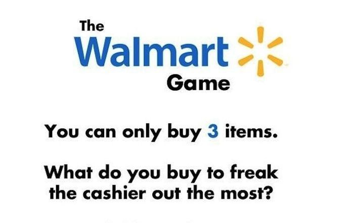 The Walmart Game