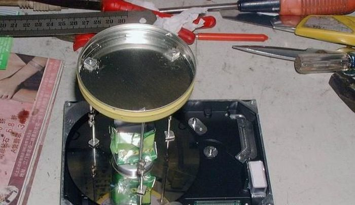 Cotton Candy Maker Out of an Old HDD