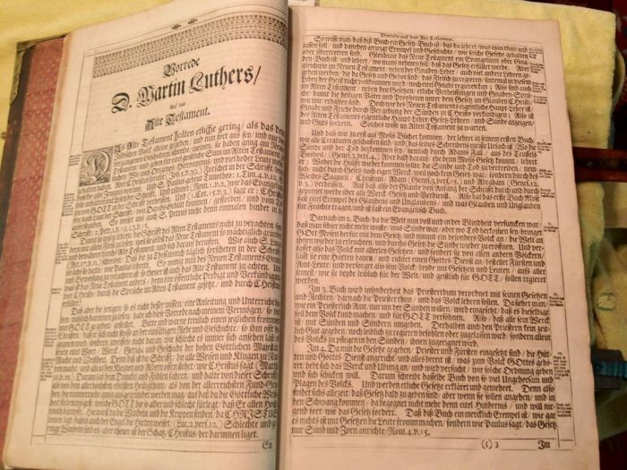 Very Old Bible