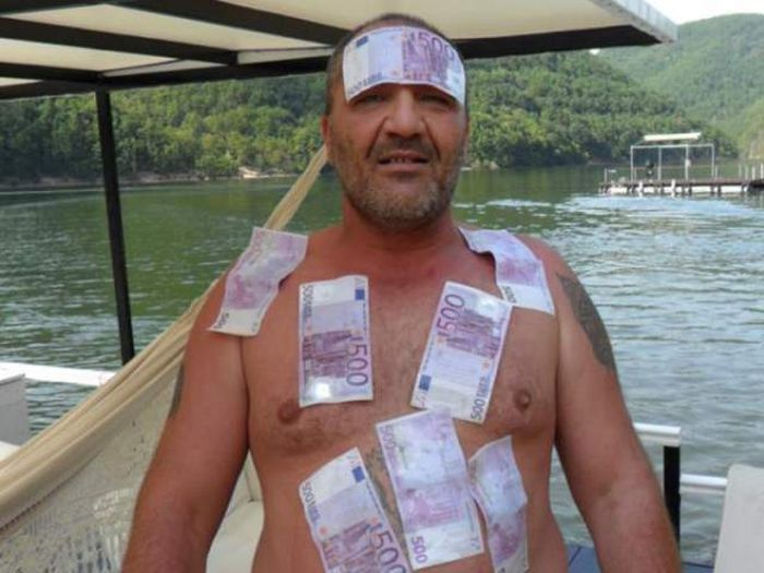 Rich Guy from Romania
