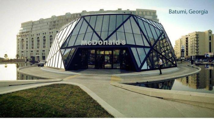 McDonald's in Batumi, Georgia