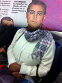 Newspaper Faces