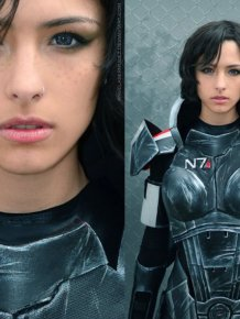 Amazing Mass Effect Female Shepard Cosplay