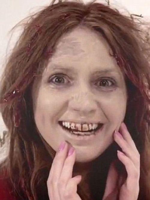 Zombie Makeup, part 2