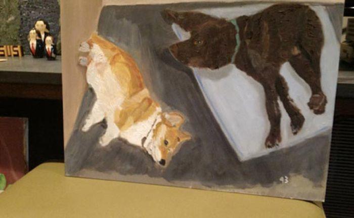 George W. Bush' Paintings