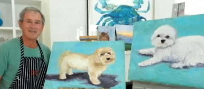 George W. Bush' Paintings