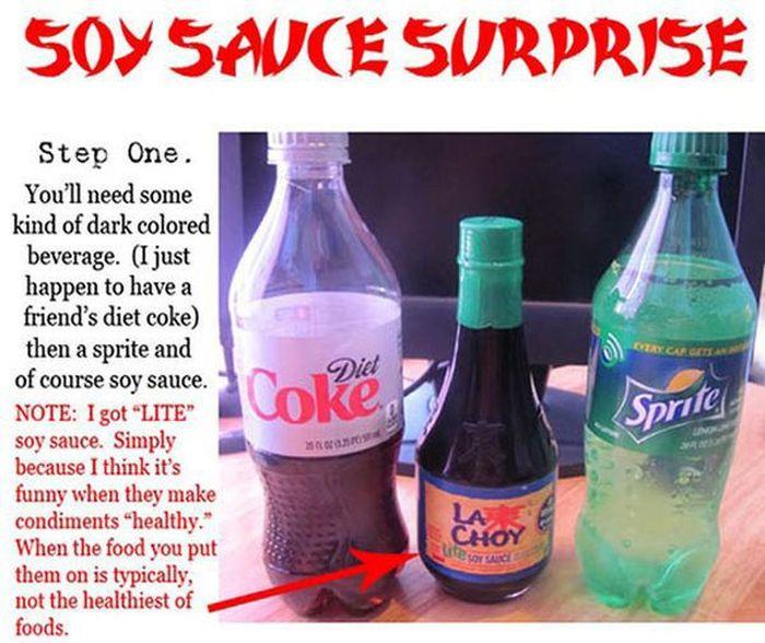 Soy Sauce Surprise
