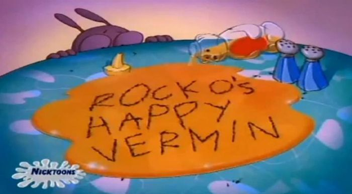 """""""Rocko's Modern Life"""" Title Cards"""