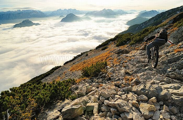 Amazing Places Above the Clouds