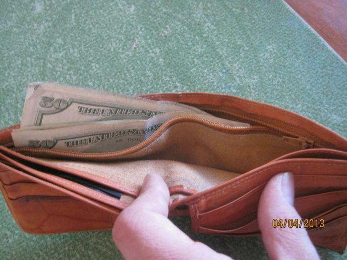The Twenty Five Cent Thrift Store Wallet