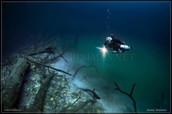 Beautiful Underwater Caves