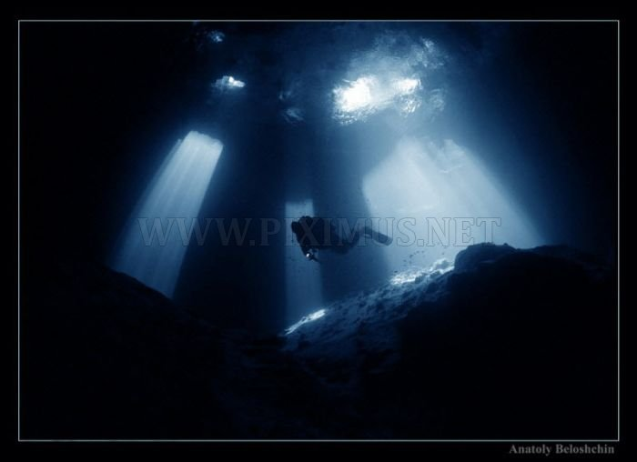 Beautiful Underwater Caves