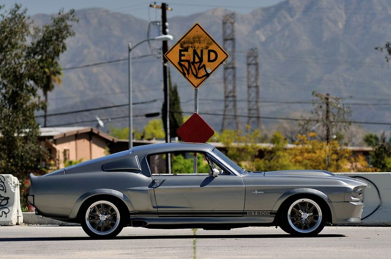 Shelby GT500 from the movie Gone in 60 seconds go on auction