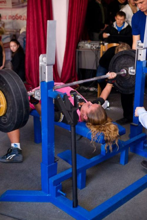 Powerlifting Champ Aya Antipova