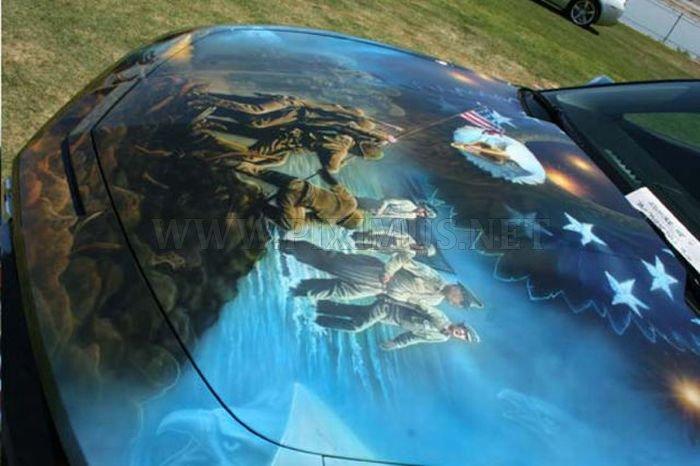 Awesome Airbrushed Camaro