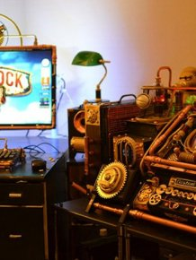 Steampunk Bioshock Infinite PC Case Mod