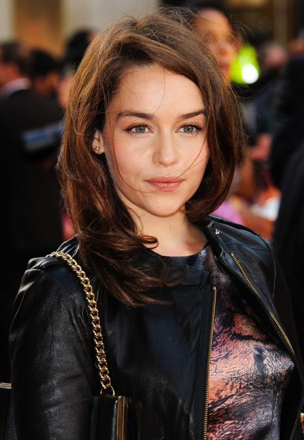 Emilia Clarke in the Movie, Real Life and Without Makeup