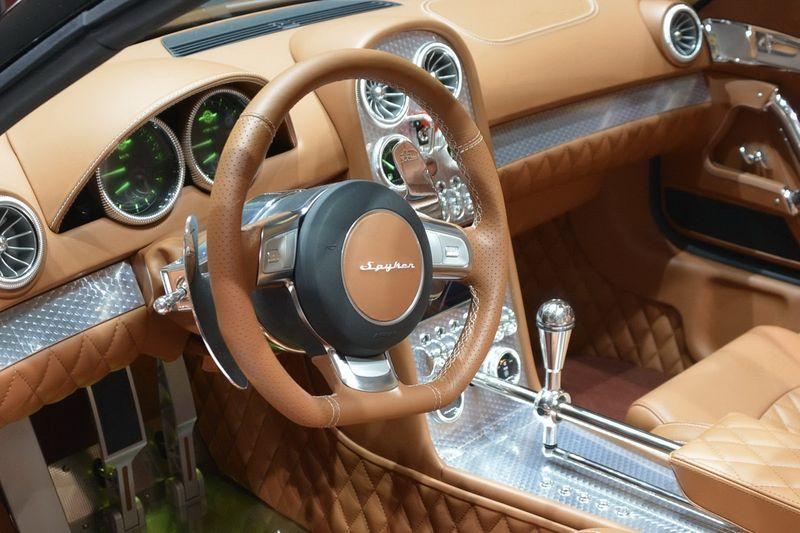 Interior of modern cars