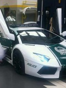 Dubai police received Lamborghini Aventador